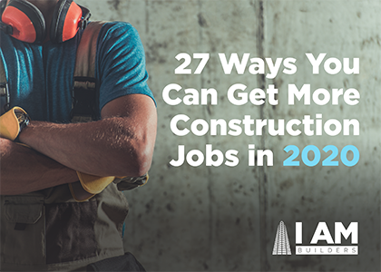 get more construction jobs