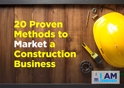 market a construction business