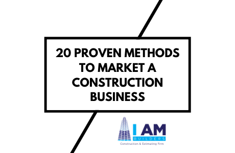 how to market a construction business