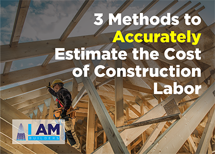 estimate construction labor