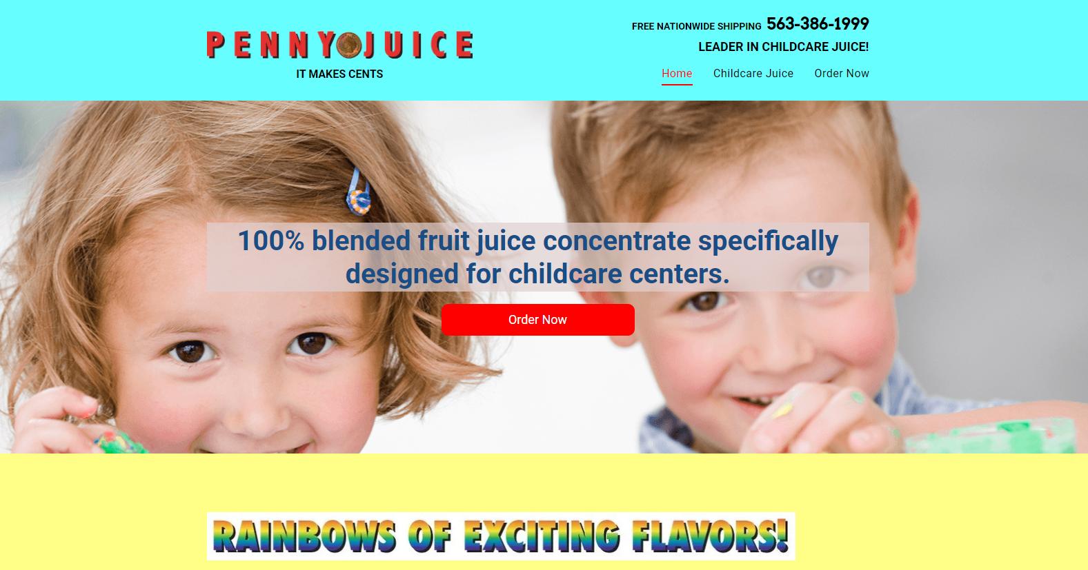 horrible website design