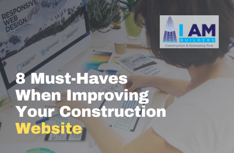 construction website tips