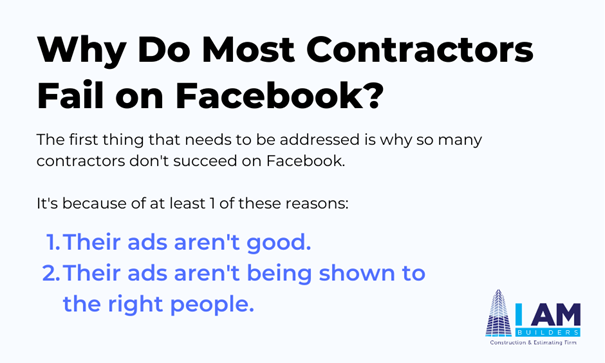 facebook for contractors success