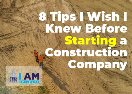 starting a construction company