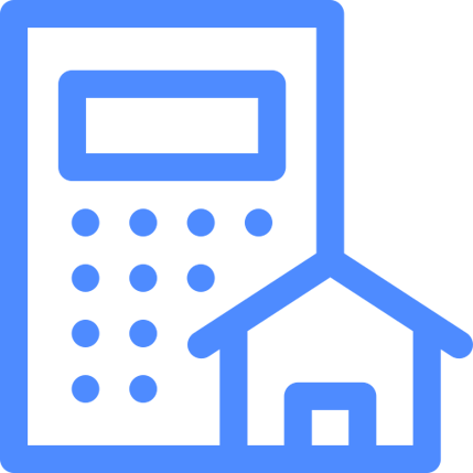 building and house icon